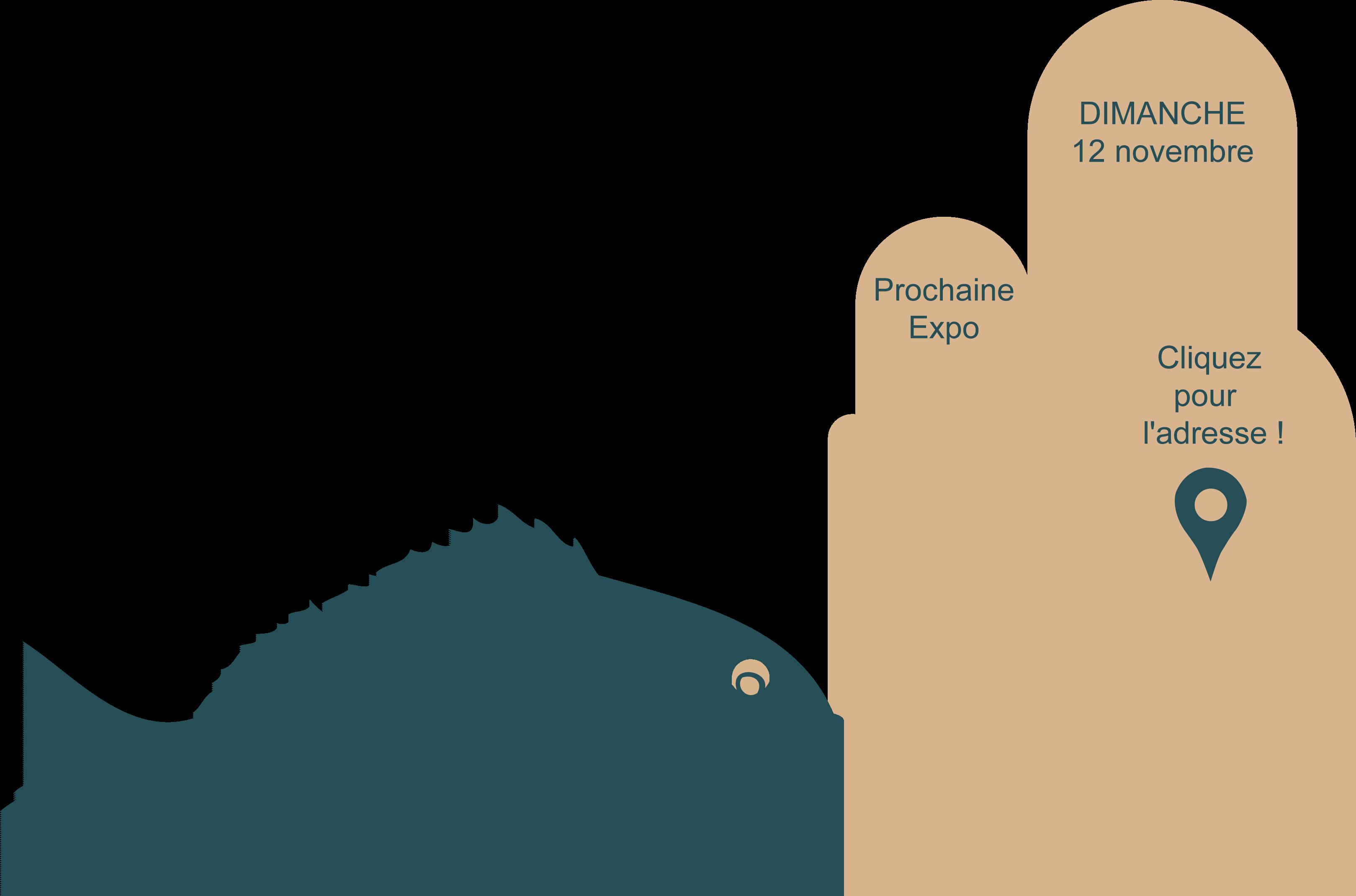 fond de page poissons bleus